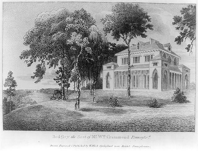 Sedgley, the seat of Mr. Wm. Crammond, Pennsylv'a / drawn, engraved & published by W. Birch, Springland near Bristol, Pennsylvania.