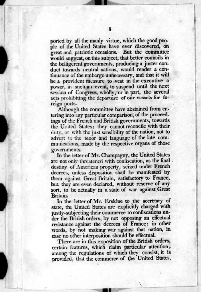 Senate, April 16, 1808