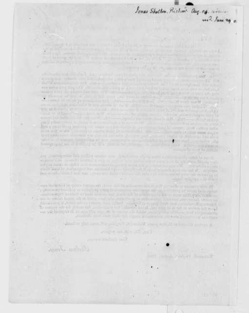 Skelton Jones, August 1808, Printed Article on Biographical Data