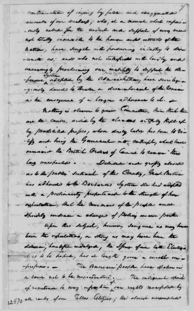 South Carolina Legislature, December 16, 1808, Resolutions