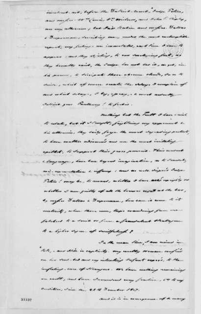 St. Leger D'Happart to Thomas Jefferson, June 11, 1808