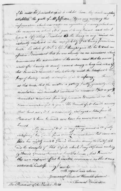 Thomas Henderson to Thomas Jefferson, May 10, 1808