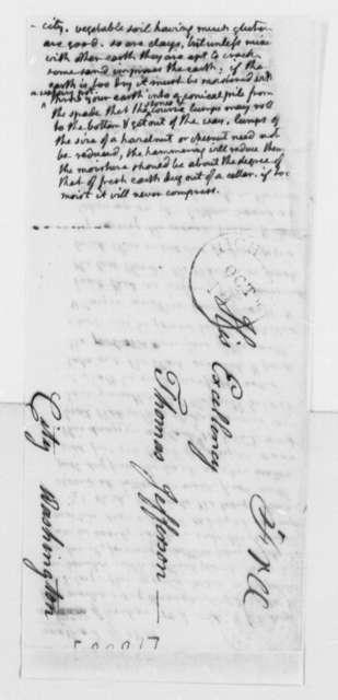 Thomas Jefferson, 1808, Pise's Wall Construction Method
