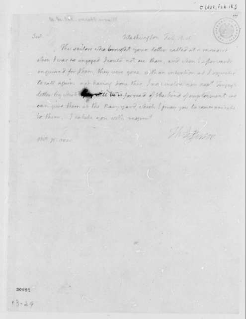 Thomas Jefferson to Henry Moore, February 18, 1808