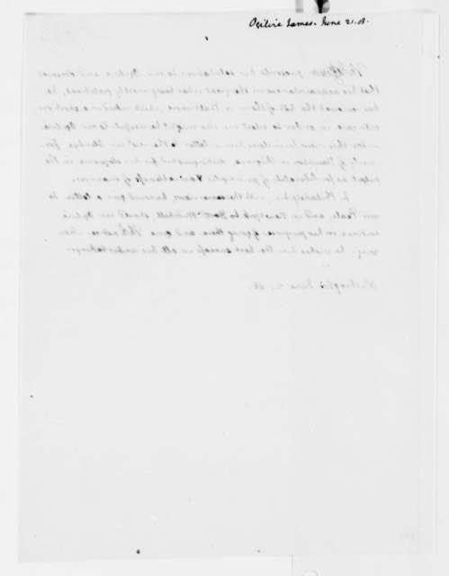 Thomas Jefferson to James Ogilvie, June 21, 1808