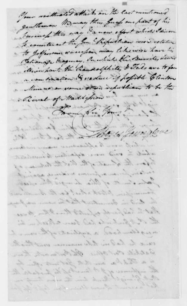Thomas Younglove to William Duane, February 20, 1808