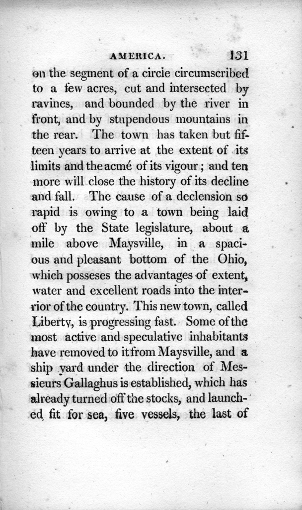 Travels in America performed in 1806 : for the purpose of exploring the rivers Alleghany, Monongahela, Ohio, and Mississippi, and ascertaining the produce and condition of their banks and vicinity, volume 2