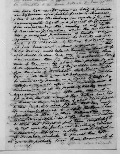 William Pinkney to James Madison, August 2, 1808.