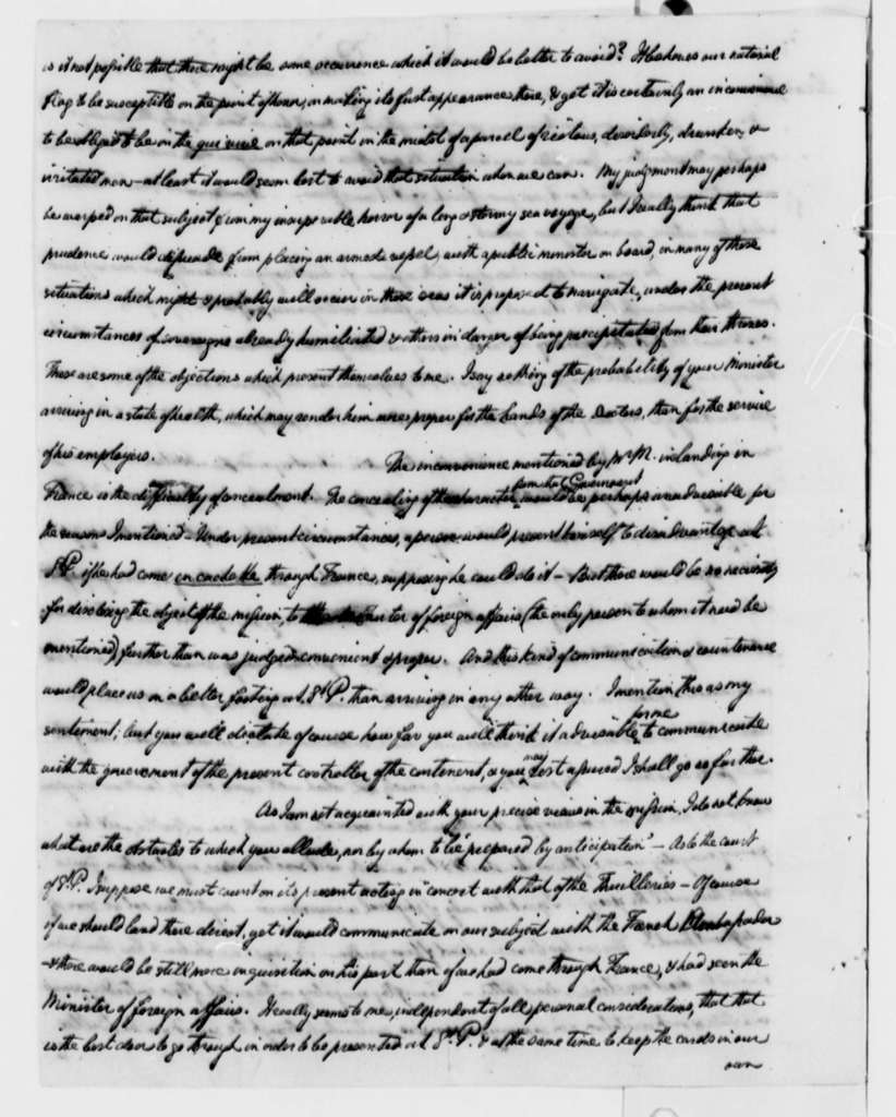 William Short to Thomas Jefferson, August 7, 1808