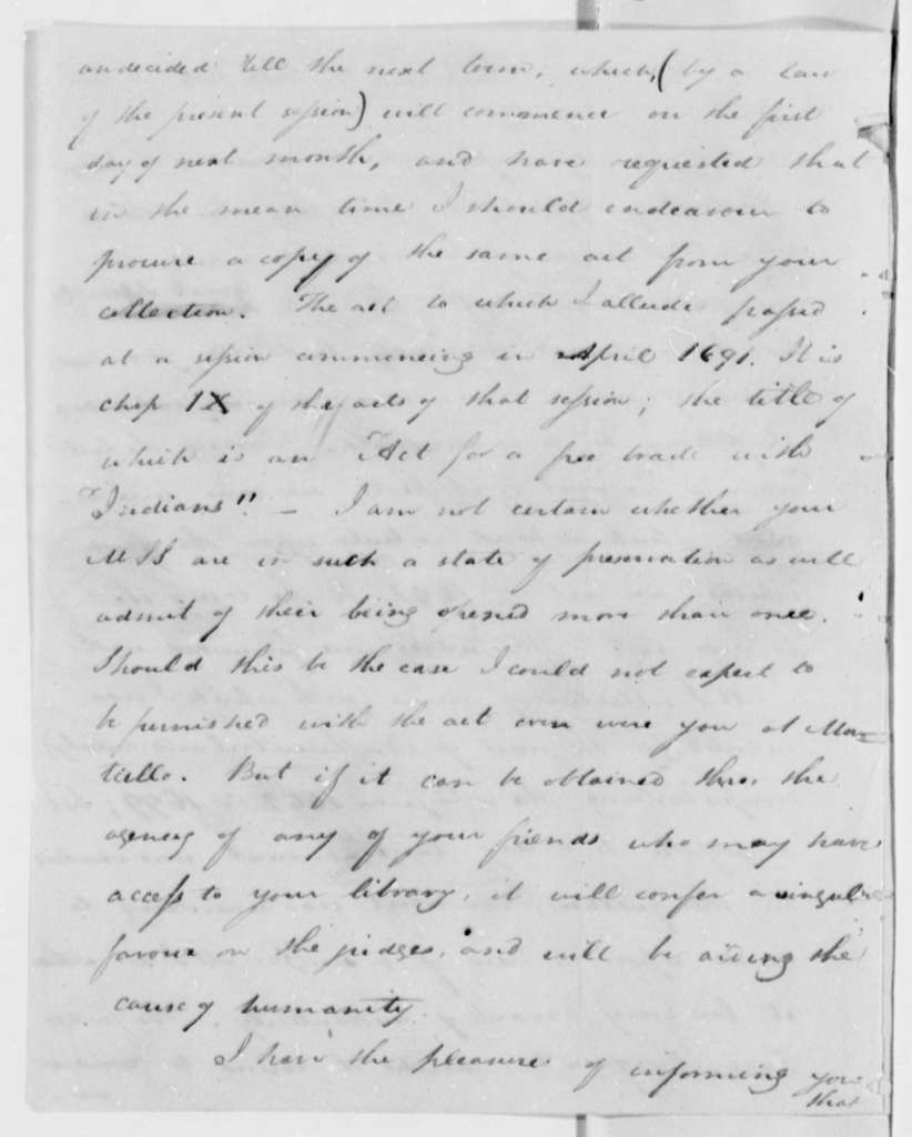 William Waller Hening to Thomas Jefferson, February 7, 1808
