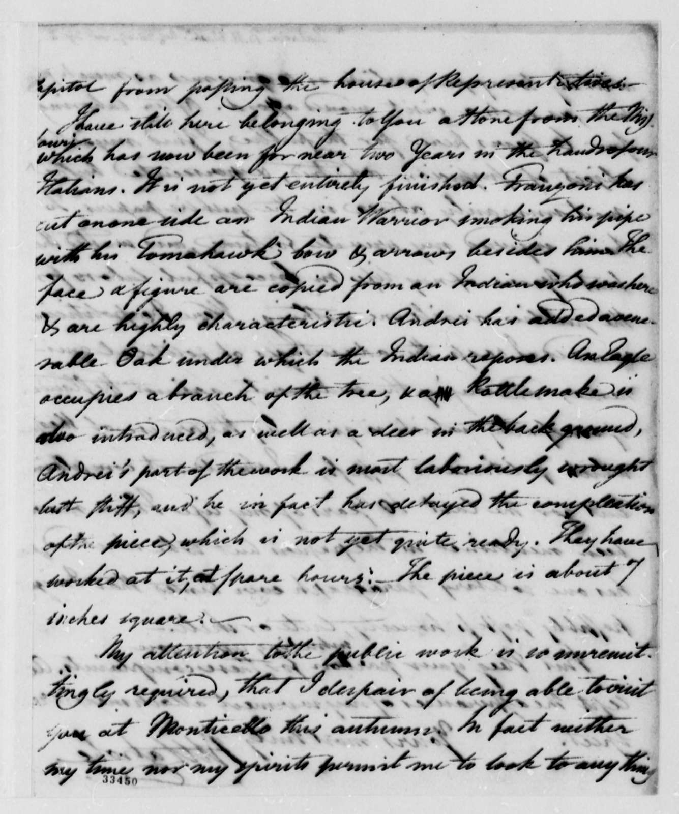 Benjamin H. Latrobe to Thomas Jefferson, August 28, 1809