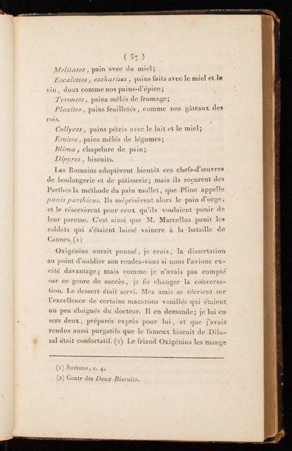 Cours gastronomique, ou, Les diners de Manant-ville : ouvrage anecdotique, philosophique et littéraire.