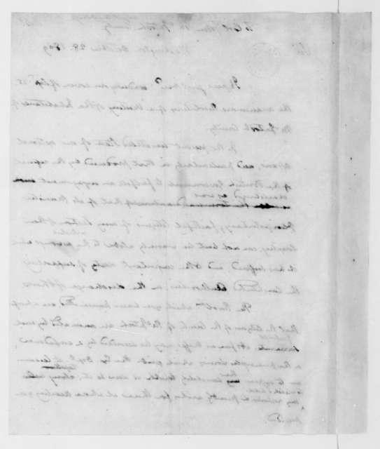 James Madison to John McIntosh, October 28, 1809.