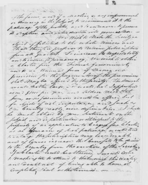 James Mease to Thomas Jefferson, January 2, 1809