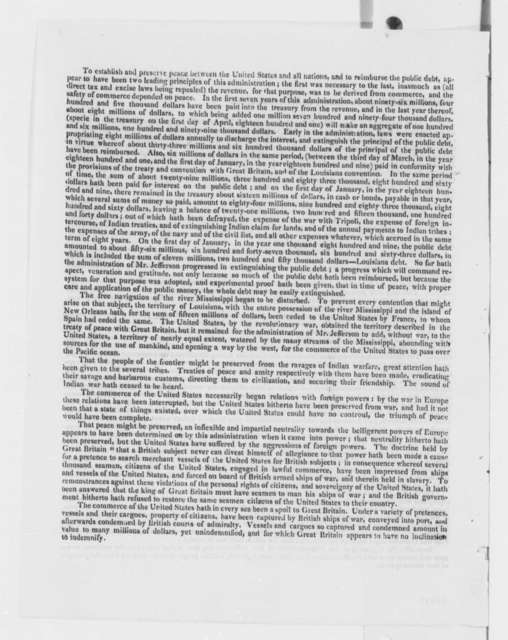 John Rhea to Constitutents, February 13, 1809, Printed Circular