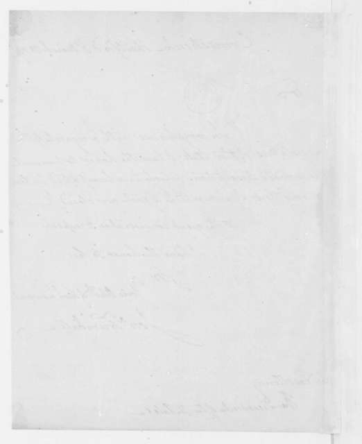 Jonathan Trumbull to James Madison, March 3, 1809. Transmittal.