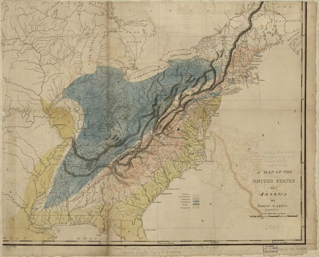 [Maclure's geological map of the United States] /