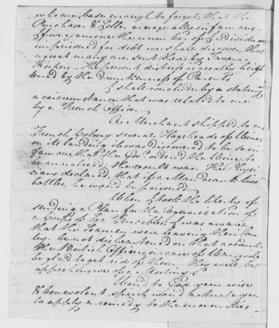 Michael Walton to Thomas Jefferson, January 20, 1809