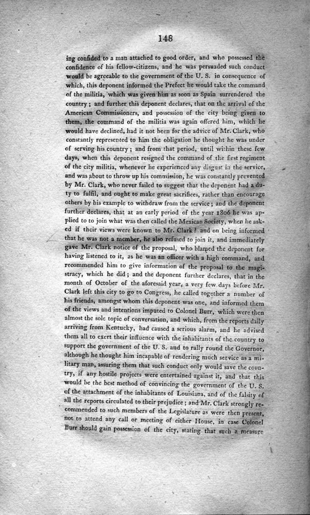 Proofs of the corruption of Gen. James Wilkinson and of his connection with Aaron Burr : with a full refutation of his slanderous allegations in relation to the character of the principal witness against him