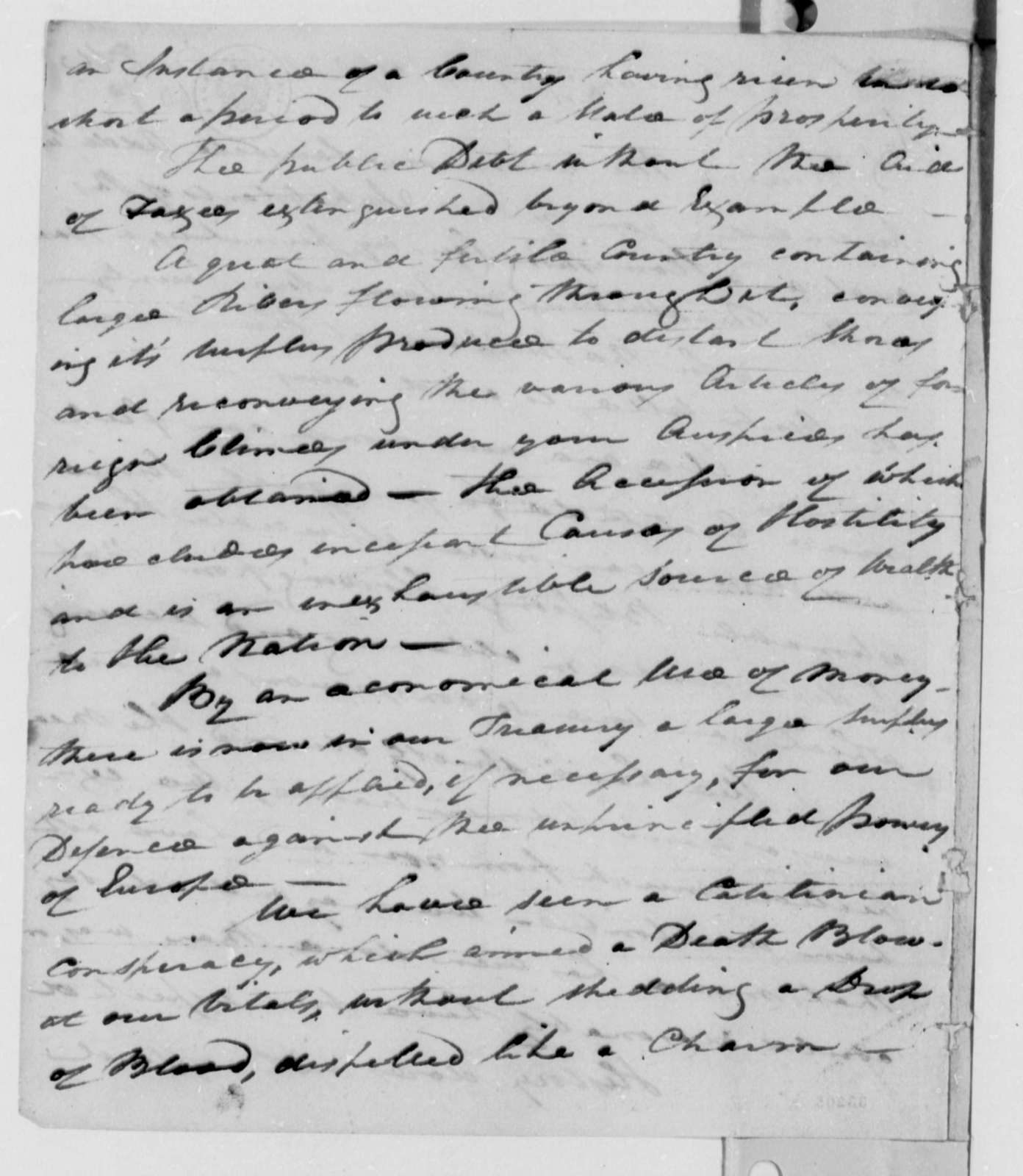 Queen Anne County, Maryland, Republicans to Thomas Jefferson, March 18, 1809