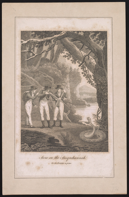 Scene on the Susquehannah [sic.] See the Foresters a poem