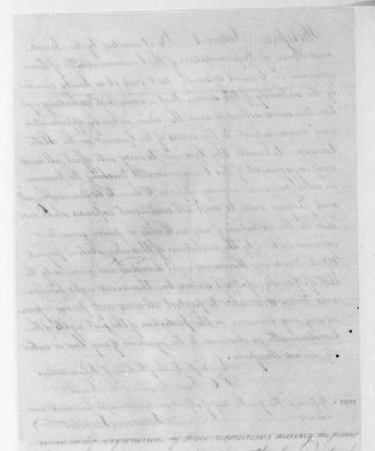 Simon Snyder to James Madison, April 6, 1809. With an Act of the Pennsylvania General Assembly.