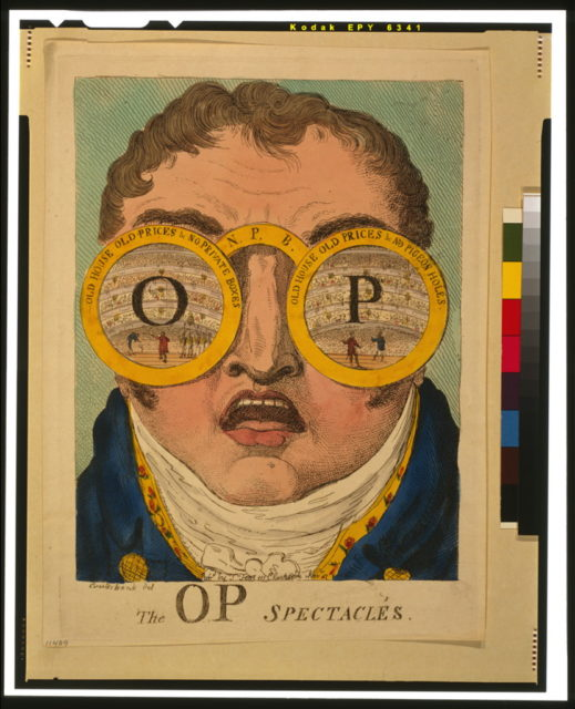 The OP spectacles / Cruikshank del.