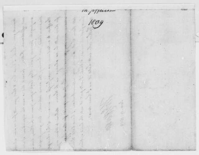 Thomas Jefferson to Cherokee Deputies, January 9, 1809, with Copy