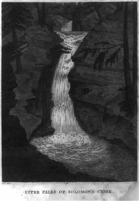 Upper Falls of Solomon's Creek