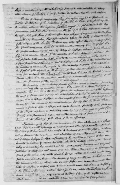 William Duane to James Madison, December 1, 1809.