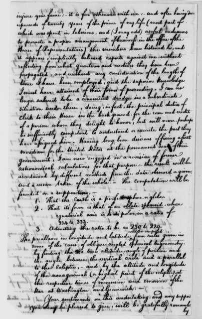 William Lambert to Thomas Jefferson, June 13, 1809