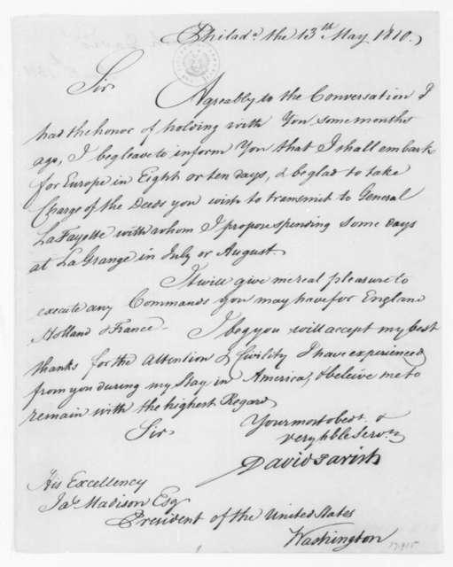 David Parish to James Madison, May 13, 1810.