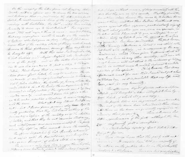 Harry Toulmin to James Madison, November 28, 1810.