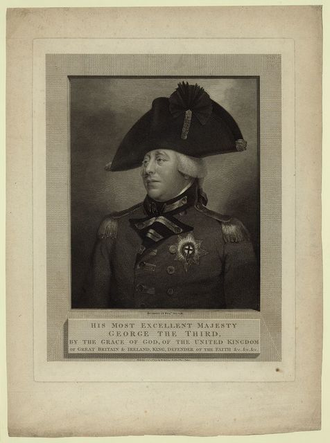 His most excellent majesty George the third, by the grace of god, of the United Kingdom of Great Britain & Ireland, king, defender of the faith &c, &c, &c / engraved by Will'm. Skelton.