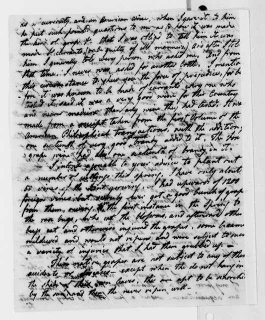 John Adlum to Thomas Jefferson, February 15, 1810
