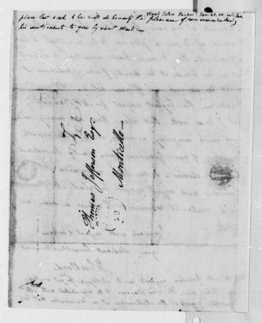 John Wood to Thomas Jefferson, January 21, 1810