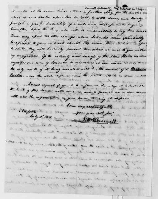 Littleton Waller Tazewell to Thomas Jefferson, July 5, 1810