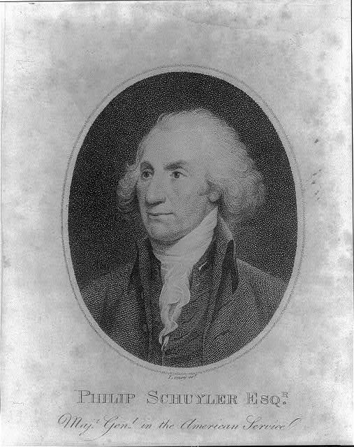 Philip Schuyler Esq'r. maj'r. gen'l. in the American service / Leney sct.
