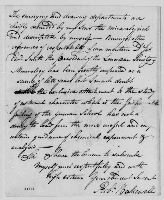 Robert Bakewell to Thomas Jefferson, December 23, 1810