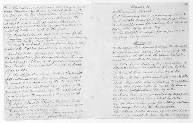Tatham to James Madison, March 10, 1810. With outline and statement.