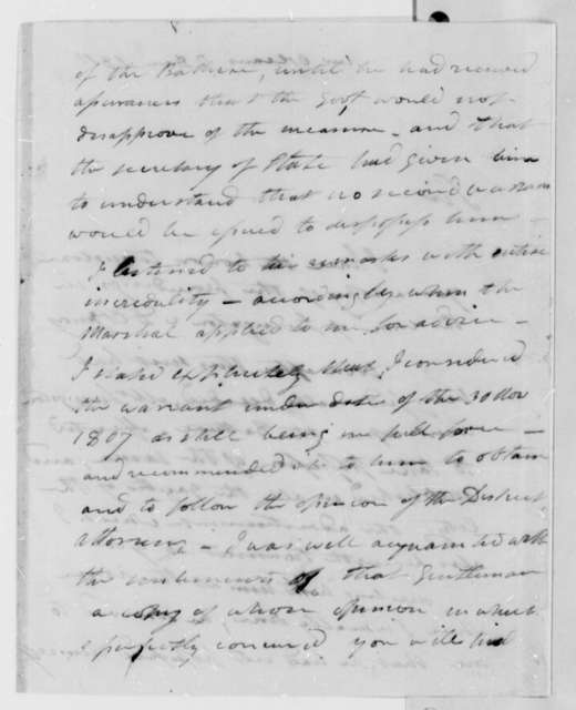 Thomas B. Robertson to Thomas Jefferson, December 7, 1810