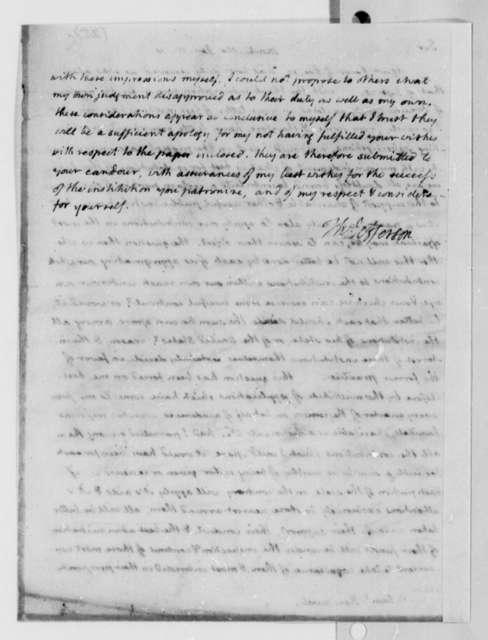 Thomas Jefferson to Samuel Kercheval, January 15, 1810