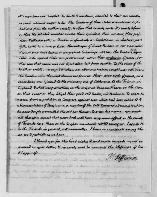 Thomas Jefferson to Samuel Kercheval, January 19, 1810