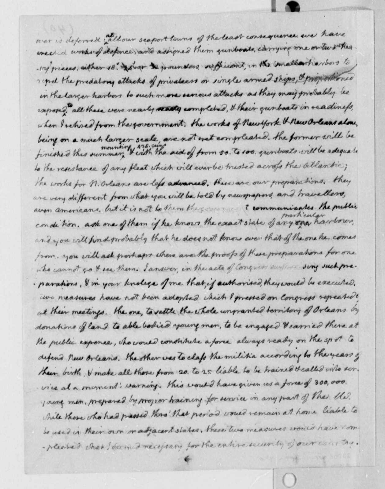 Thomas Jefferson to Thaddeus Kosciuszko, February 26, 1810