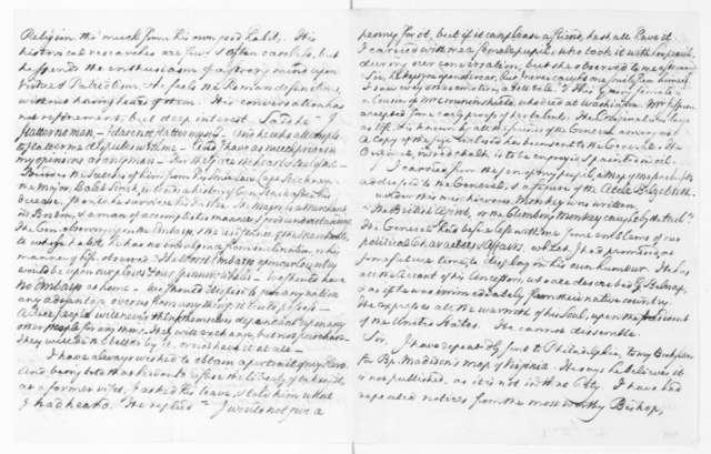 William Bentley to James Madison, July 2, 1810.