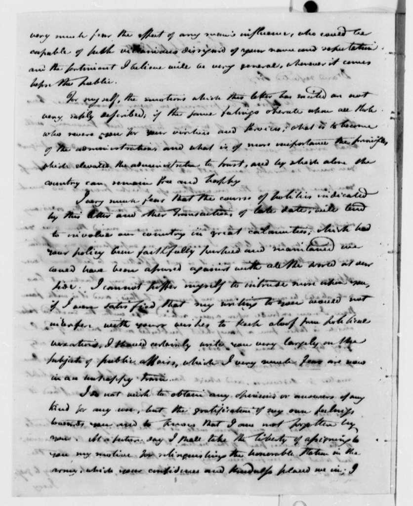 William Duane to Thomas Jefferson, July 16, 1810