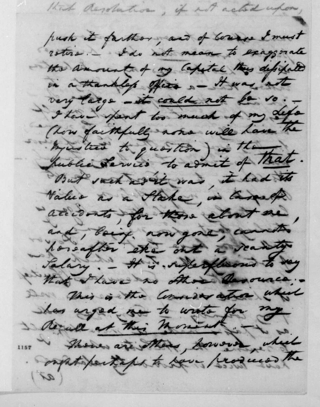 William Pinkney to James Madison, November 24, 1810.
