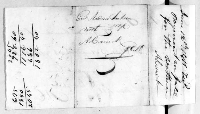 Andrew Jackson to Addison Carrick, May 7, 1811