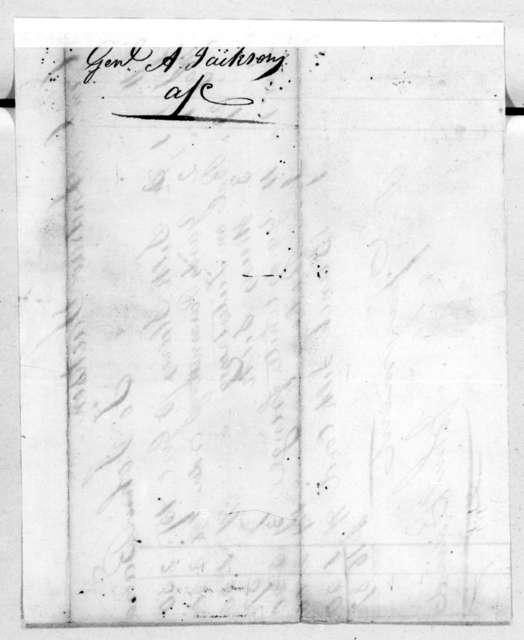 Andrew Jackson to John Baird, June 1, 1811