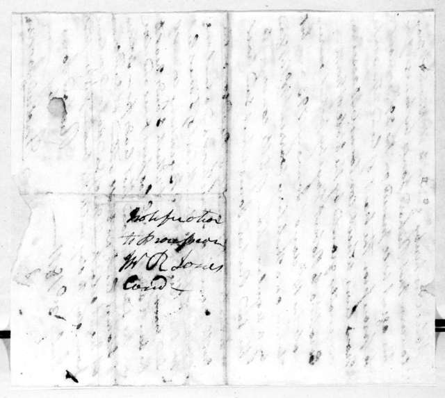 Andrew Jackson to Richard Jones, July 3, 1811